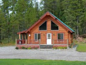 900 sq. ft Cabin