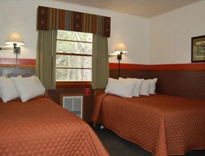 Pinetop Motel Room
