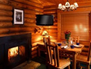 Cabins with Fireplace